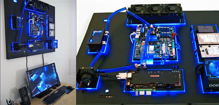 Lắp máy tính không cần case